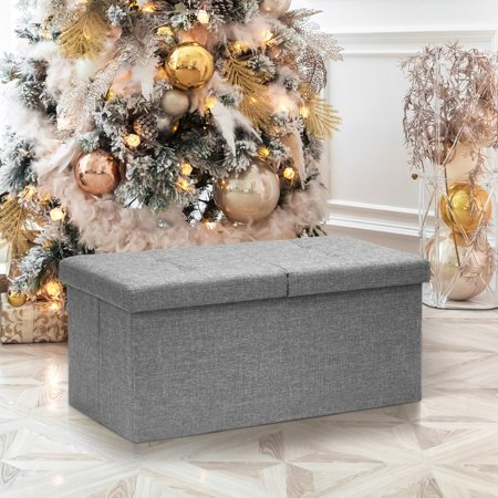 Otto & Ben 30 Inch SMART LIFT TOP Ottoman Bench, Multiple Colors ()