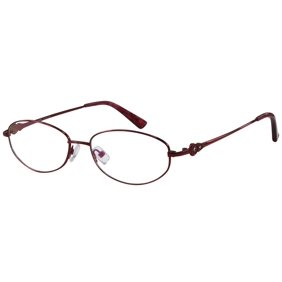 44d642d0ca Ebe Women Burgundy Oval Half Rim Regular Hinge Eyewear Reading ...