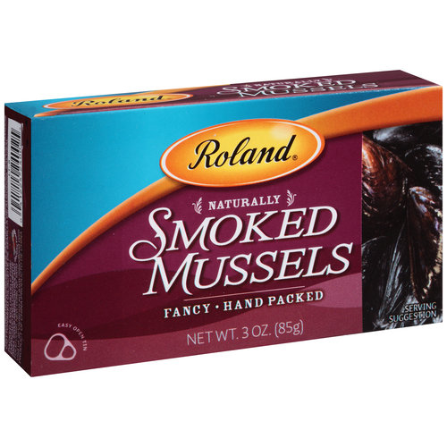 Roland Smoked Mussels, 3 oz
