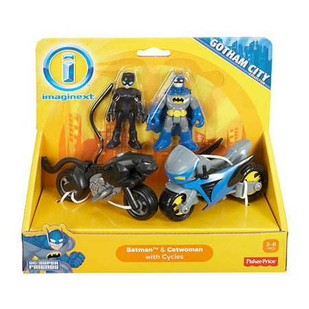 Imaginext DC Super Friends Exclusive Gotham City Batman, Catwoman - Super Hot Catwoman