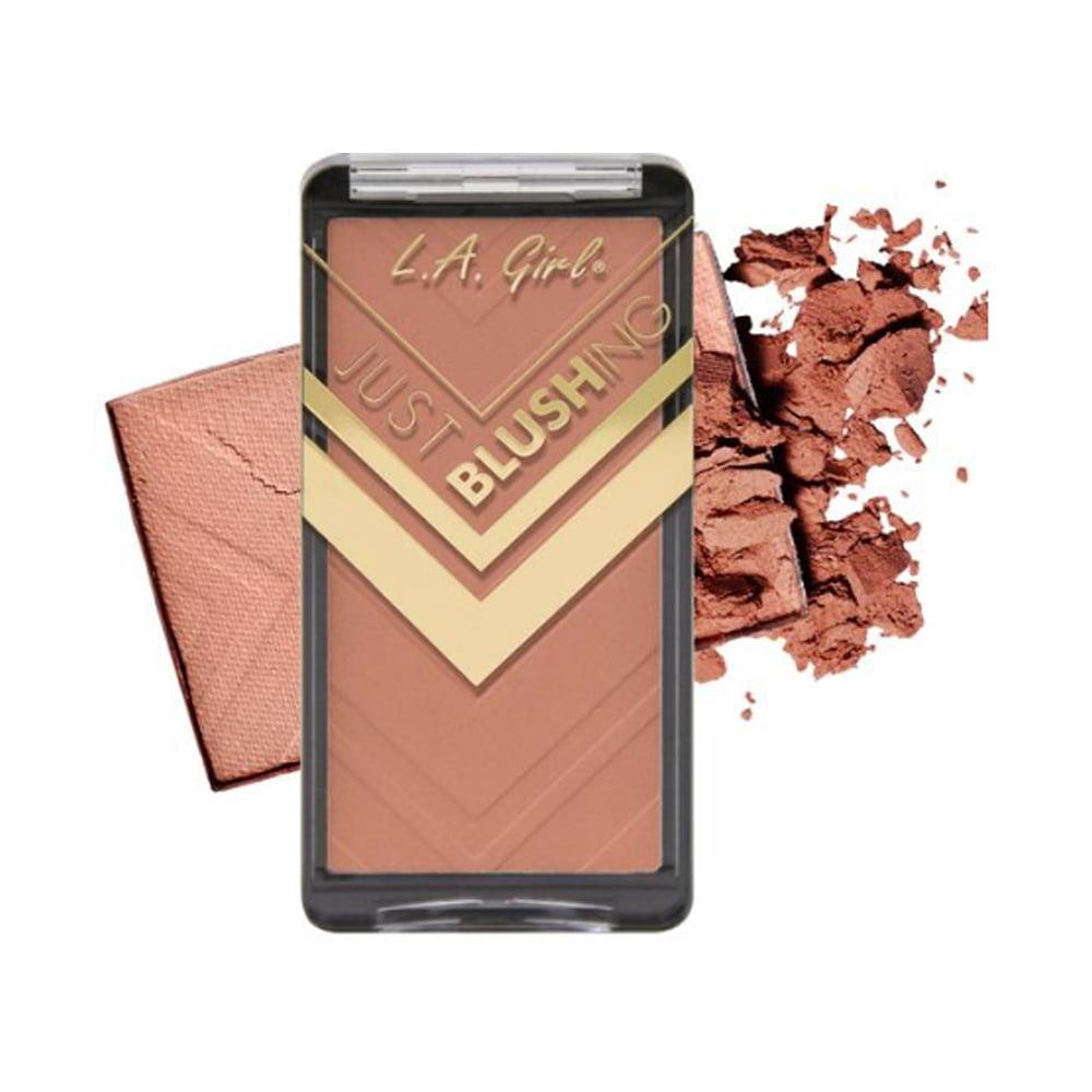 (3 Pack) LA GIRL Just Blushing Powder Blush - Just Be You