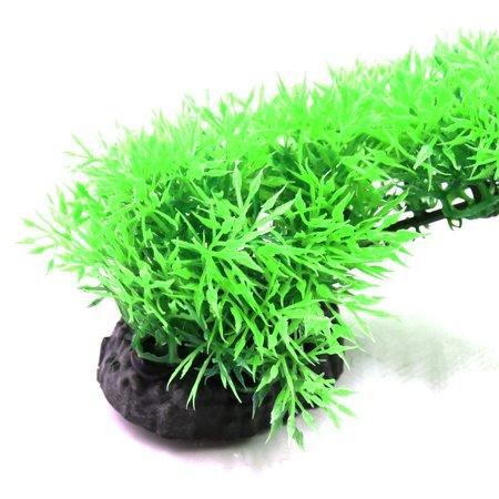 2pcs Plastique Rouge Vert Plante Herbe Betta Aquarium réservoir Décor Hydropanorama w/Stand - image 2 de 3