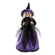 Way to Celebrate Halloween Witch Figurine, Spell Books