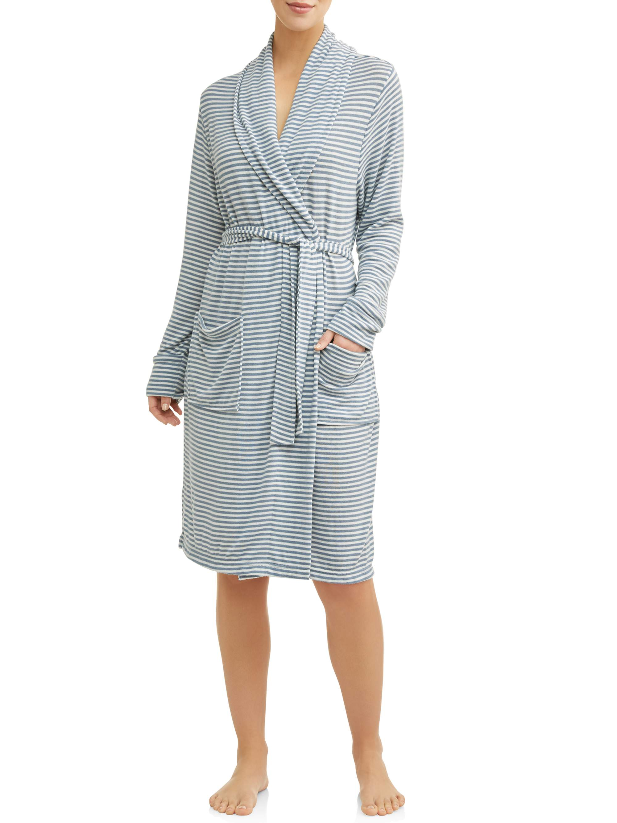 Cervantes Women's Brushed Jersey Robe