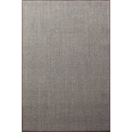 A1HC 100% Sisal Rug Natural Fiber Area Rug Non-Skid Latex Backing Sisal Rug for Entryway, Dining or Living Room Various Sizes and Colors Chocolate Brown - 8'x10'