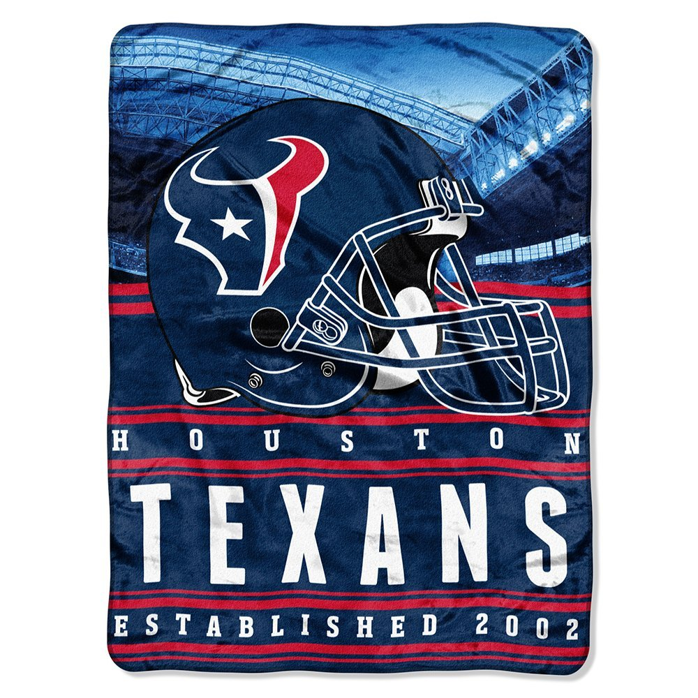 "NFL Houston Texans ""Stacked"" 60"" x 80"" Silk Touch Throw"