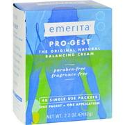 Emerita Pro-Gest Single-Use Cream Packets, 48 Ct