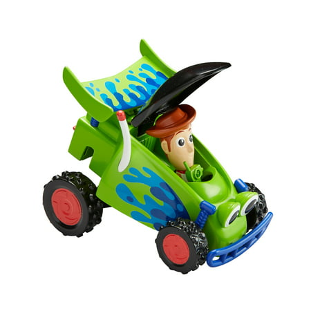 Disney Pixar Toy Story RC Racer & Woody Pop-up Figure