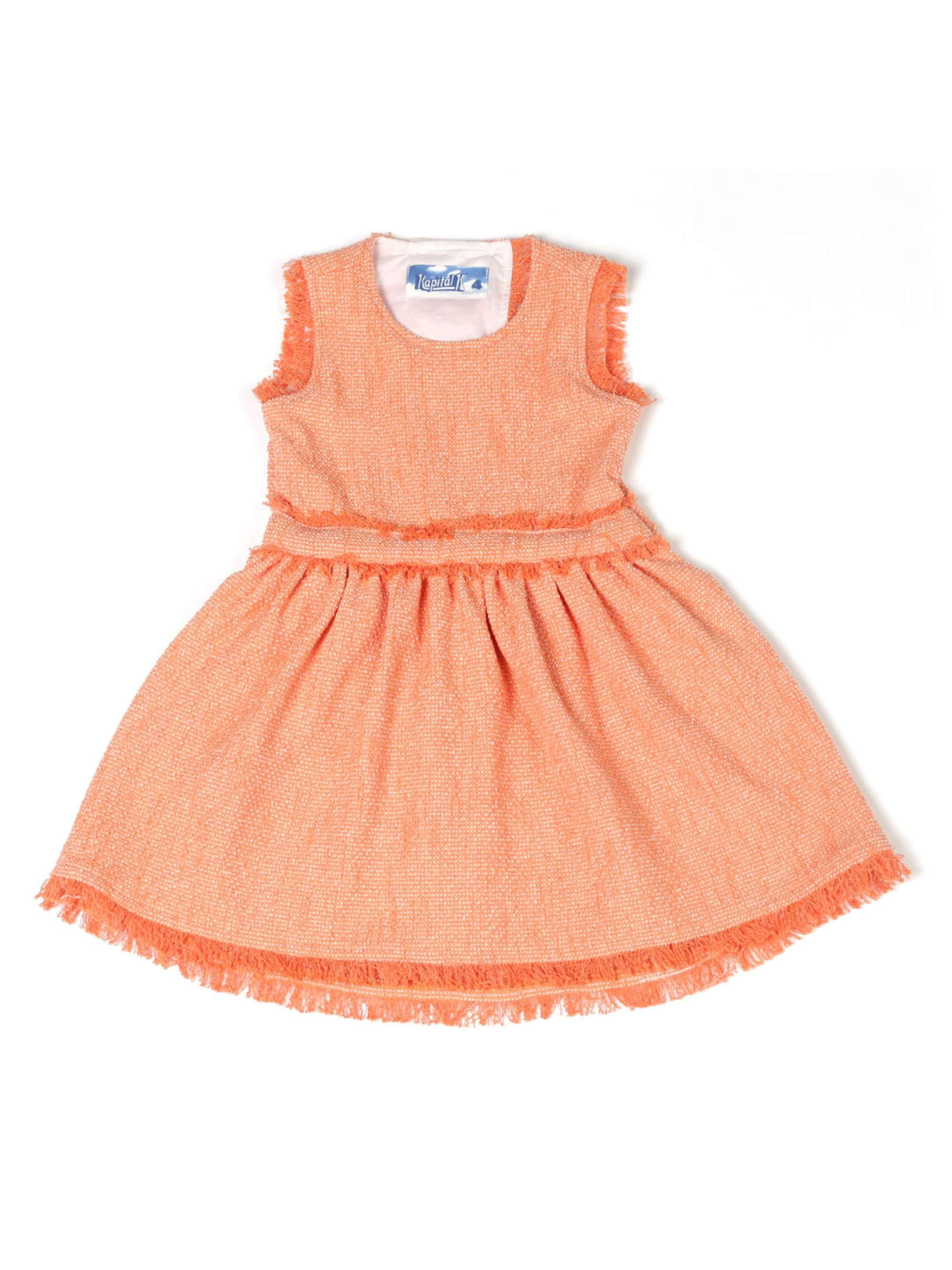 Open Back Dress (Little Girls)