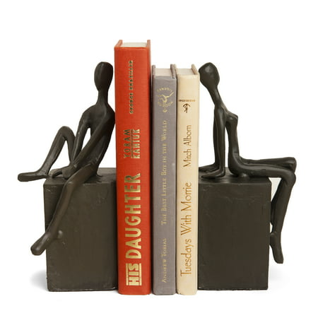 Danya B. Bookend Set with Man and Woman Sitting on a -