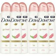 Dove Antiperspirant Spray Deodorant For Women Pomegranate & Lemon 150 ml 6 PACK