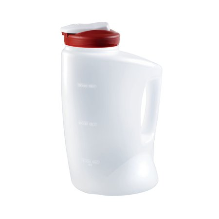 Flowered Pitcher - Rubbermaid MixerMate 1-Gal Pitcher