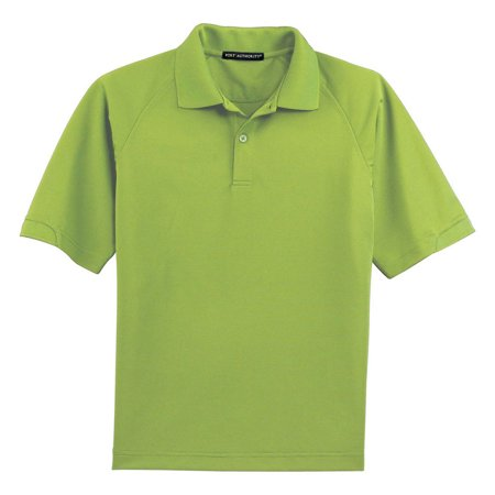 Port Authority Men's Flat Knit Collar Wicking Polo Shirt