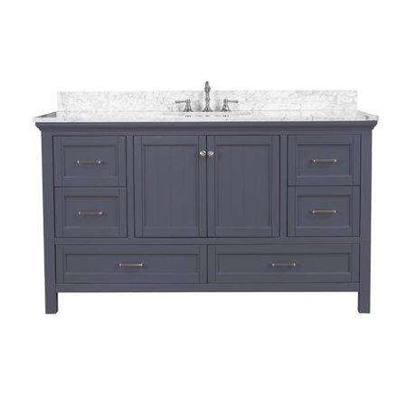 Kitchen Bath Collection Paige 60\'\' Single Bathroom Vanity Set