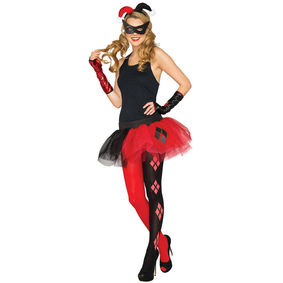 Harley Quinn Women's Cuff Halloween Accessory