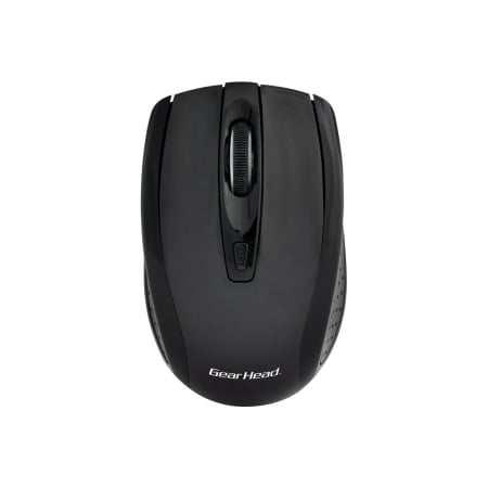 WIRELESS OPTICAL NANO MOUSE 2.4GHZ CONNECTIVITY BLACK/BLACK Head Tracking Mouse