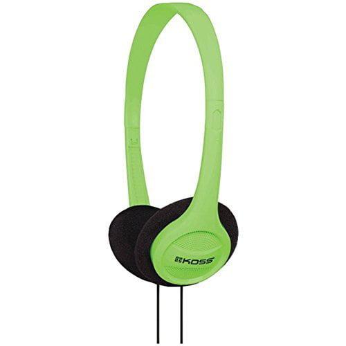 KOSS 187741 KPH7 On_Ear Headphones _Green_ by Koss by Koss