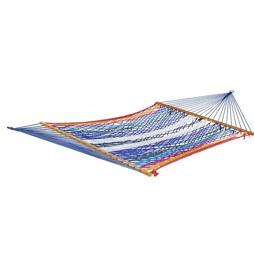 Ebern Designs William Cotton Rope Double Camping Hammock