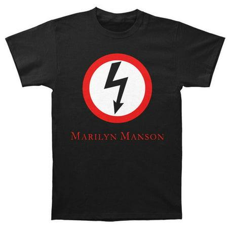 Marilyn Manson T-Shirt Classic Bolt Logo T-Shirt + Coolie (S) - Halloween Marilyn Manson Live