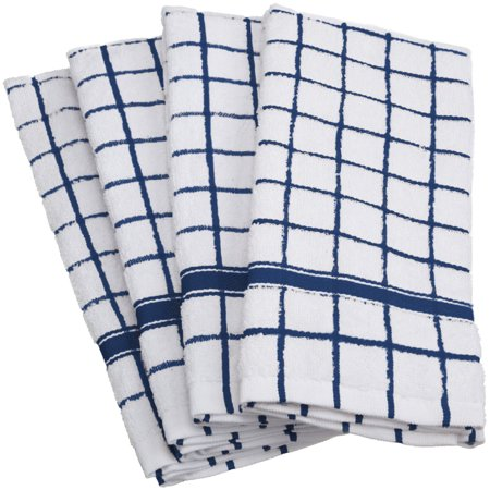 Kitchen Set Pattern - DII Terry Kitchen Dishtowel Set, Set of 4, 15