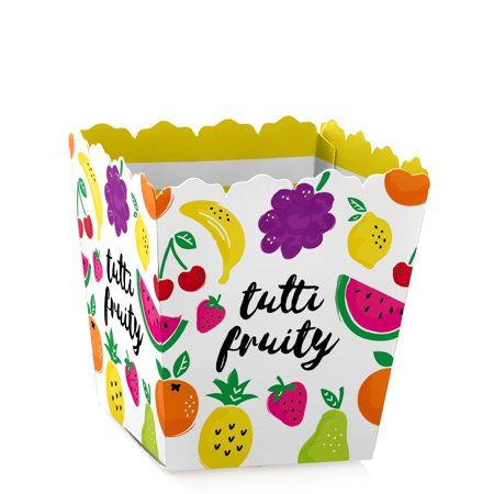 Tutti Fruity - Party Mini Favor Boxes - Frutti Summer or 2nd Birthday Party Treat Candy Boxes - Set of 12](Summer Parties)