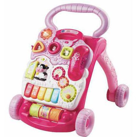 VTech Sit-to-Stand Learning Walker Pink