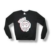 5 Seconds Of Summer  Skull Girls Jr Sweatshirt Black