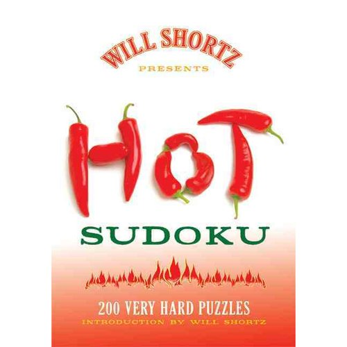 Will Shortz Presents Hot Sudoku: 200 Very Hard Puzzles