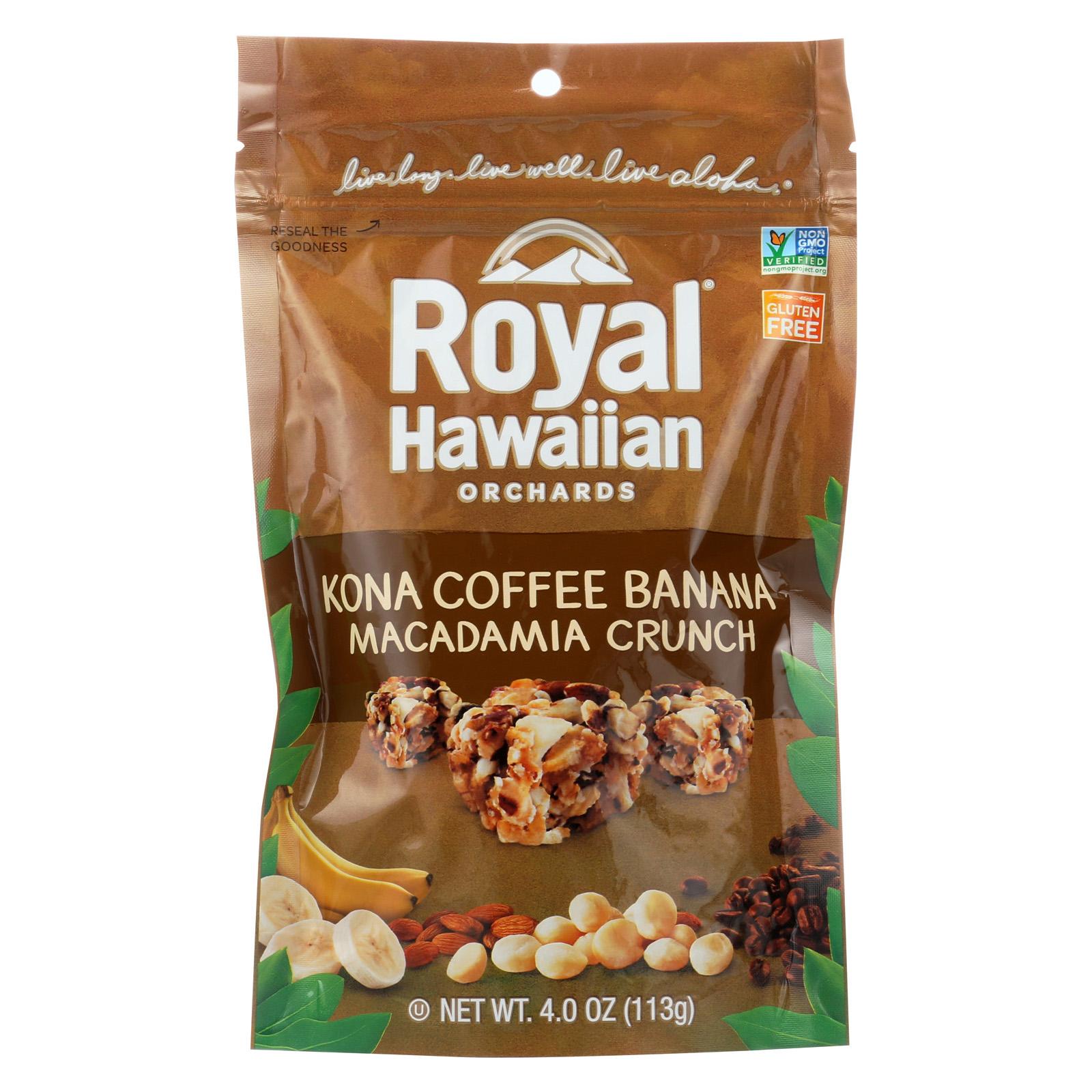 Royal Hawaiian Orchards Macadamia Crunch - Kona Coffee Ba...