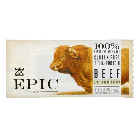 EPIC Beef Apple + Uncured Bacon Bar, 1.5 OZ