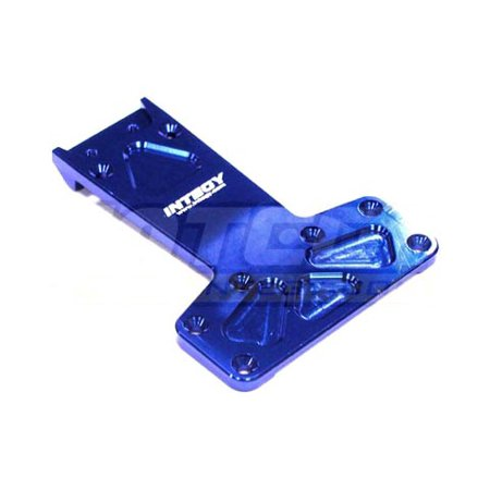 Integy RC Toy Model Hop-ups T6627BLUE Alloy Rear Chassis Plate for HPI E-Firestorm