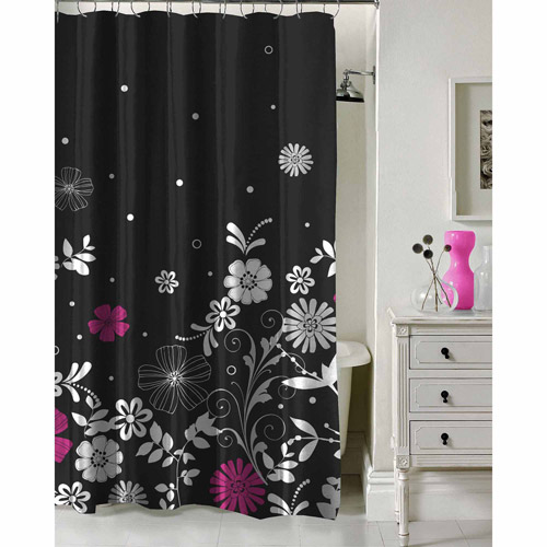 "Formula Twilight Garden Shower Curtain, 70"" x 72"""