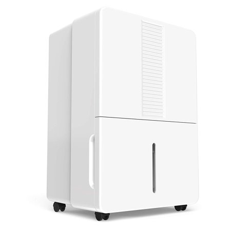 hOmeLabs 70 Pint Dehumidifier (with Pump) Featuring Intelligent Humidity Control - Energy Star Rated, Ideal for Large-Sized Rooms and Basements to Remove Moisture-Related Mold, Mildew and (Best Keystone Dehumidifiers With Pumps)