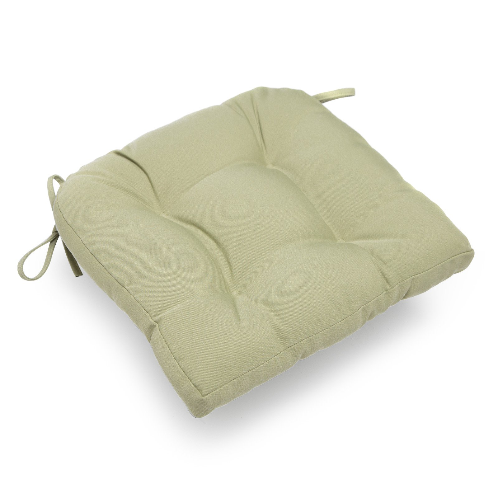 deauville 16 x 16 in. tufted kitchen chair cushion - walmart