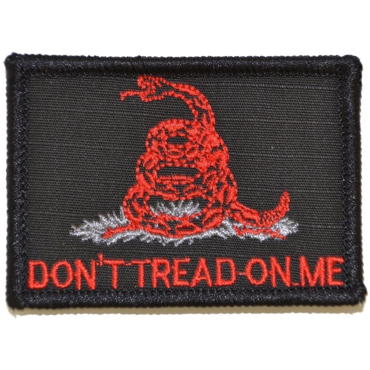 Don't Tread on Me Gadsden Snake - 2x3 Patch