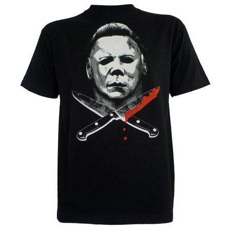 Halloween Mens Michael Myers Knives T-Shirt