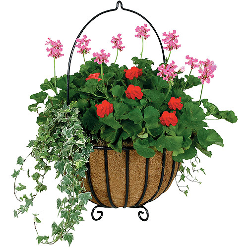 "Gardman 16"" Cauldron Hanging Planter"