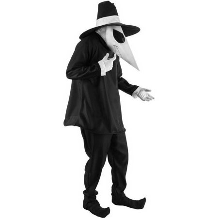 Spy vs. Spy Black Adult Halloween - Friday The 13 Vs Halloween