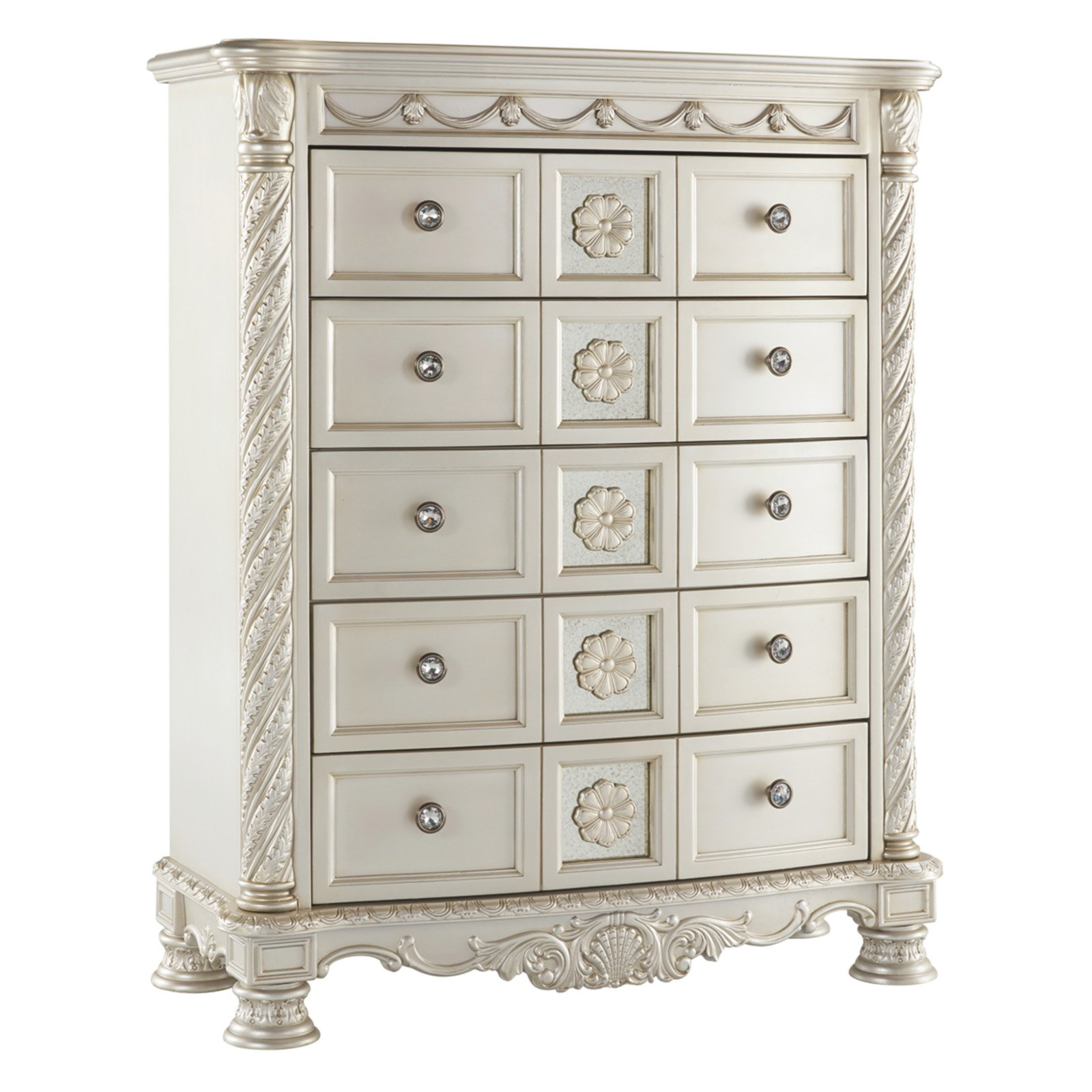 Signature Design by Ashley Cassimore 5 Drawer Chest