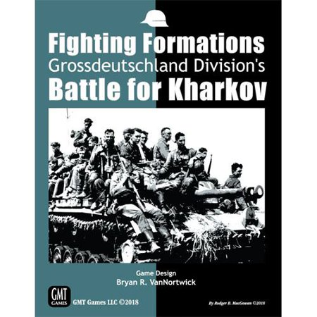 GMT Fighting Formations: Gross Deutschland's Battle For Kharkov Board - Gross Games For Halloween