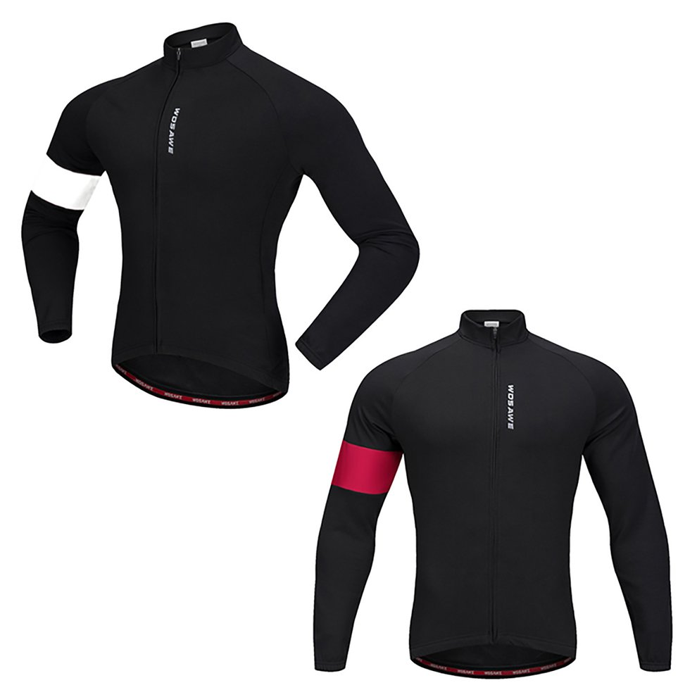 Details about  /Long Sleeve Cycling Jersey for Men MTB Bike Top Breathable Fleece Long Pants