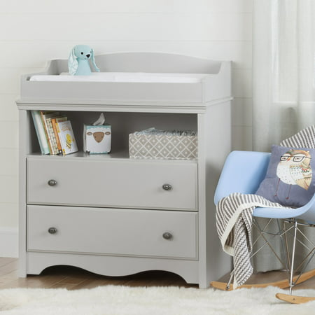 South Shore Heavenly Collection Changing Table And 4 Drawer Dresser