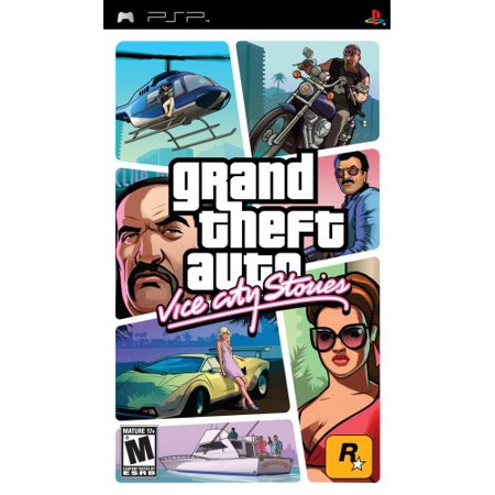 Sony PSP Grand Theft Auto Vice City Stories (Action