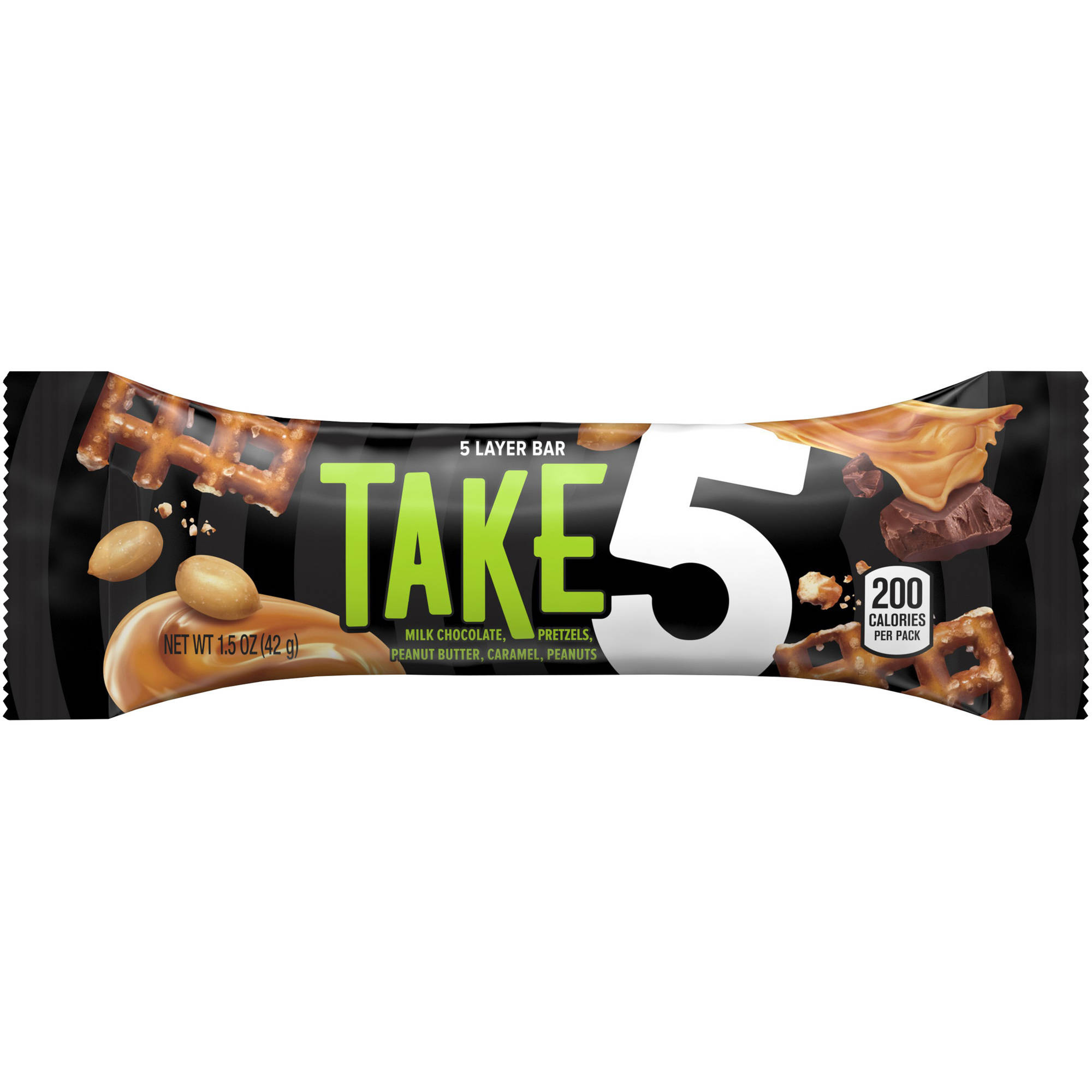 Take 5 5-Layer Candy Bar, 1.5 oz, 2 count