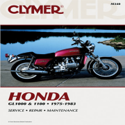 CLYMER MANUAL HON GL1000 & 1100 FOURS 75-83