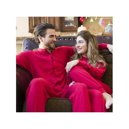 f6adcfe75 Big Feet Pajamas - Red Union Suit Sleeper Pajamas with Funny Rear ...
