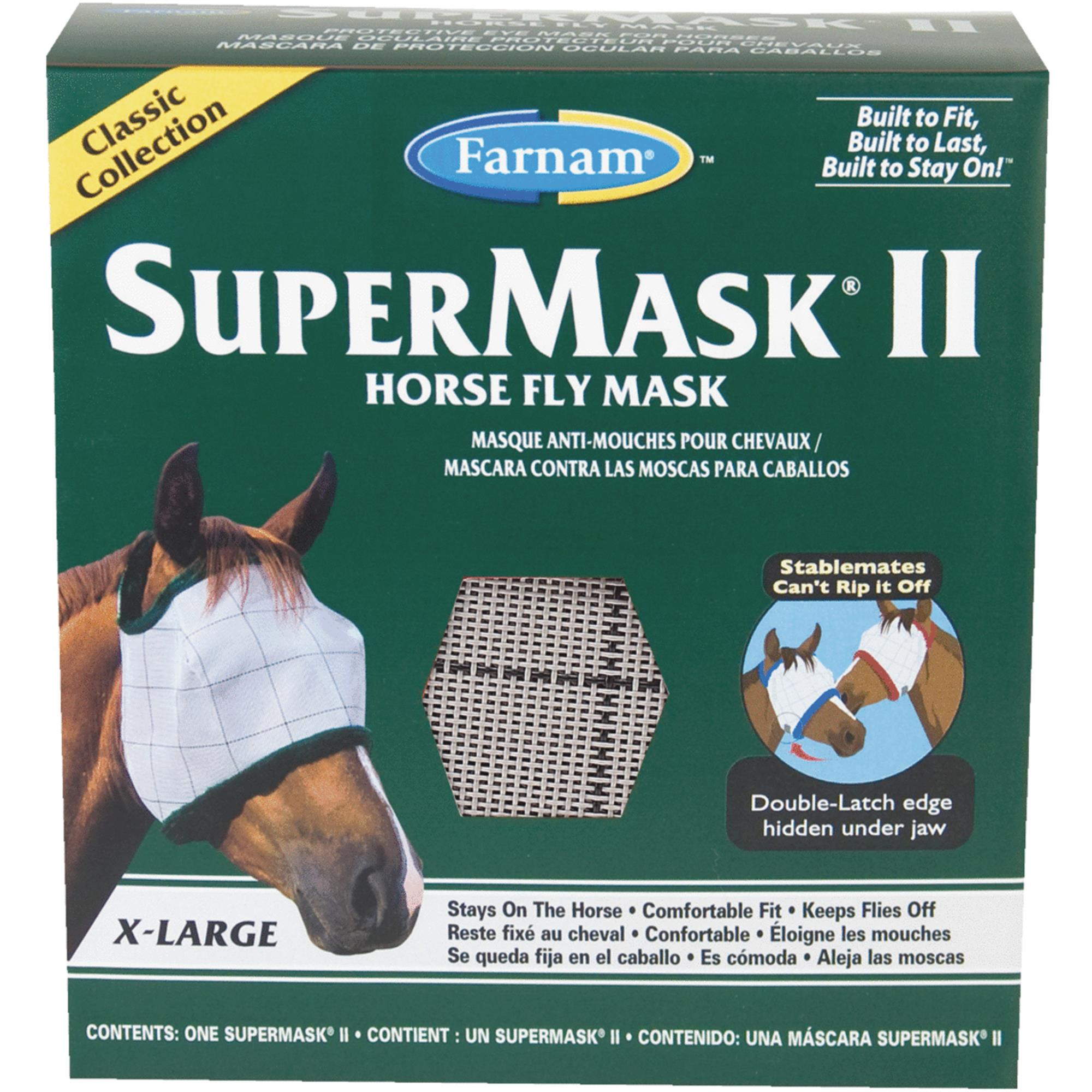 SuperMask II Extra Large Horse Fly Mask