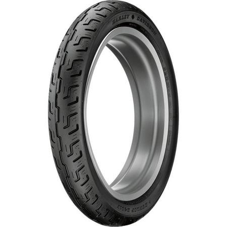 Dunlop 45064057 D401 Harley Davidson Touring Front Tire - 100/90-19