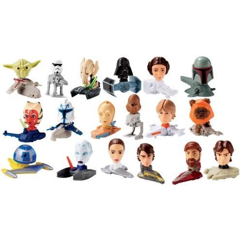 2008 Mcdonalds Happy Meal, Star Wars: The Clone Wars Comp...