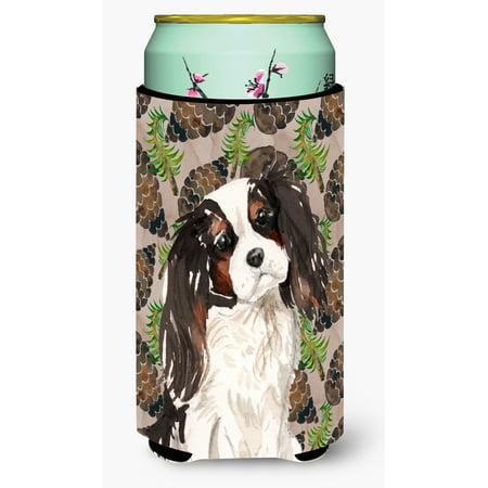 Tricolor Cavalier Spaniel Pine Cones Tall Boy Beverage Insulator Hugger BB9577TBC](Buy Pine Cones)